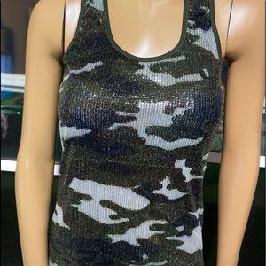 ‼️Pretty Seqein Camouflage Top